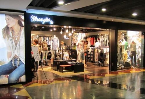 wrangler店铺展示