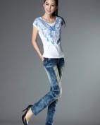 2012新款牛仔服