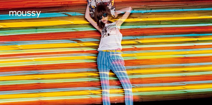 香影女装品牌_moussy品牌店面形象设计_moussy女装专卖店橱窗陈列展示【实图 ...