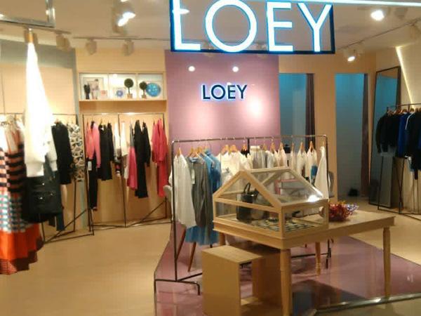 艾露伊LOEY女装专卖店品牌旗舰店店面