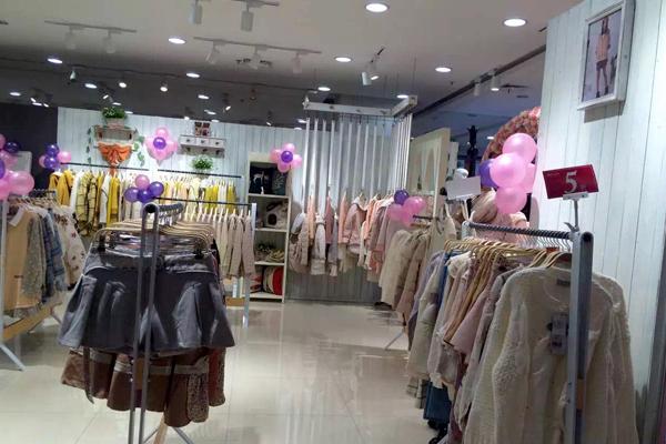 女子卉色店铺展示