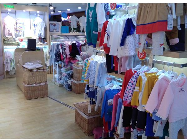 澳恬婴幼童装店铺图