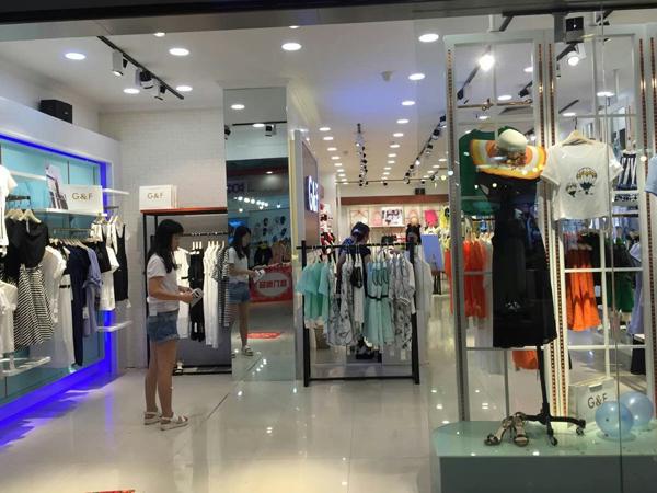青花语女装店铺图