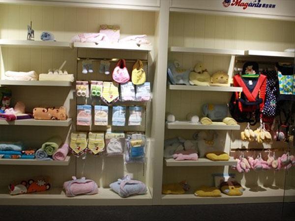 麦吉安琪婴童装店面