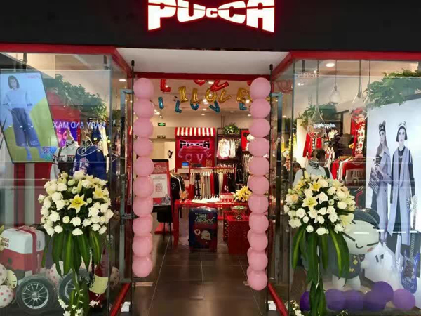 PUCCA店铺展示