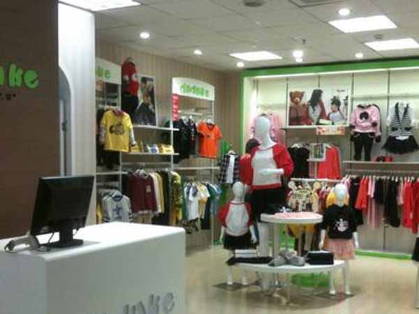 嘟嘟可儿亲子装品牌加盟品牌旗舰店店面