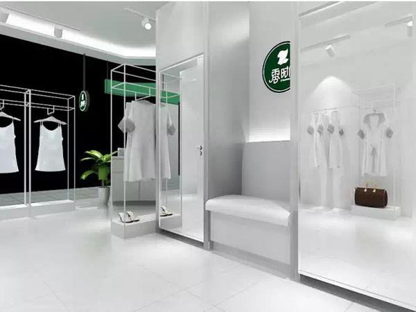 零时尚品牌女装店铺形象图