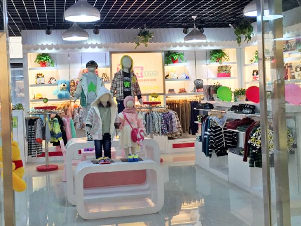 可爱100童装品牌加盟店