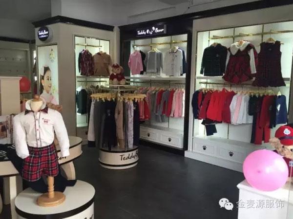 泰迪珍藏韩版童装店品牌旗舰店店面