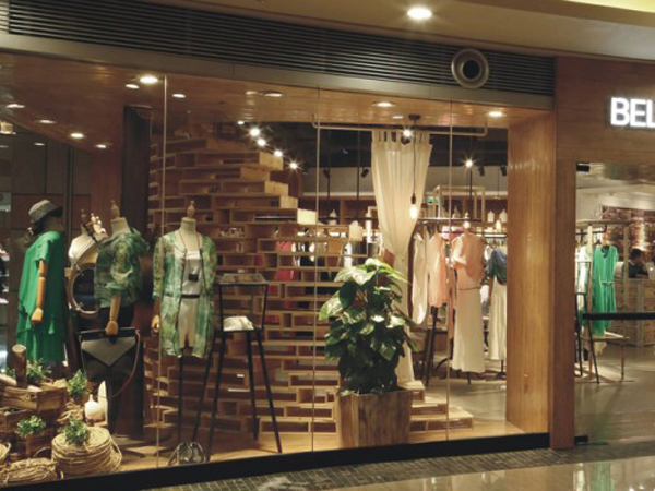 贝洛安店铺展示品牌旗舰店店面