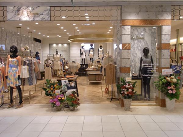 LilyBrown女装店铺展示