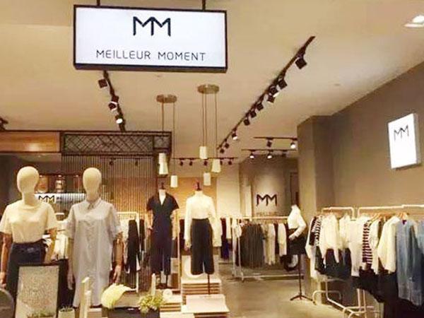 MM麦檬女装品牌终端形象品牌旗舰店店面