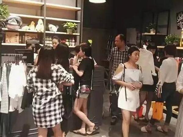 天使韩城女装专卖店