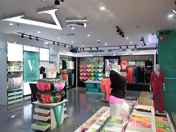 香港V21内衣专卖店铺图