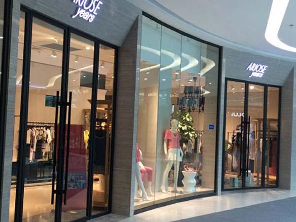 艾诺丝·雅诗女装品牌终端店展示