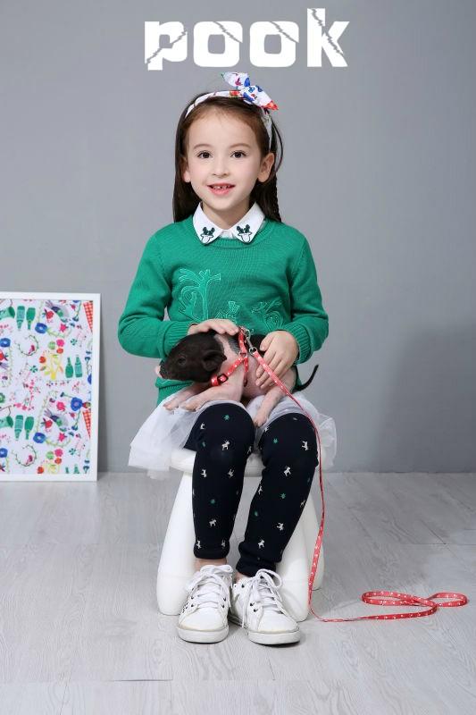皇家风范 潮品天下-朋库一代POOK童装演绎别样精彩