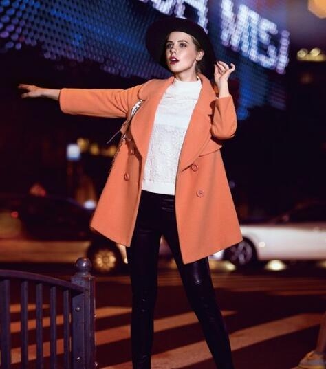 时尚主播女装精彩分享:你和网红的距离 只差一件时髦大衣