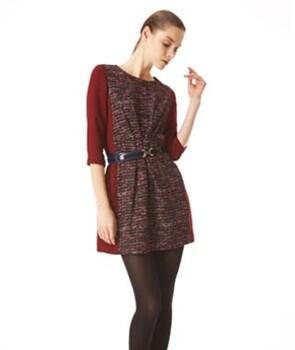 MISSK女装时尚分享:冬季连衣裙怎么搭配 连衣裙打底好看吗
