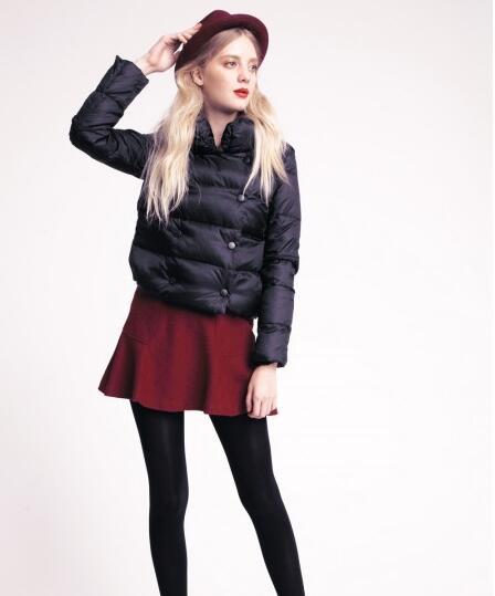 BR女装小个子显高显瘦搭配来袭 看短款外套如何搭配