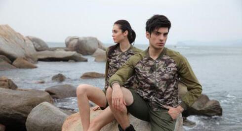 战地时尚军旅休闲品牌 给你不一样的迷彩风