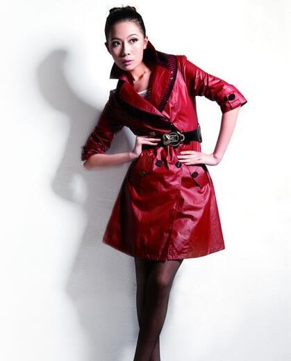水木一村女装品牌简约风衣相伴 这个冬季注定多姿