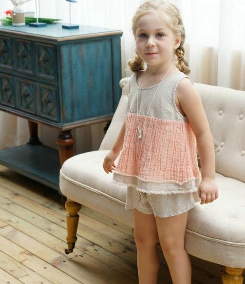 曼丝童装品牌 棉麻女童装打造时尚
