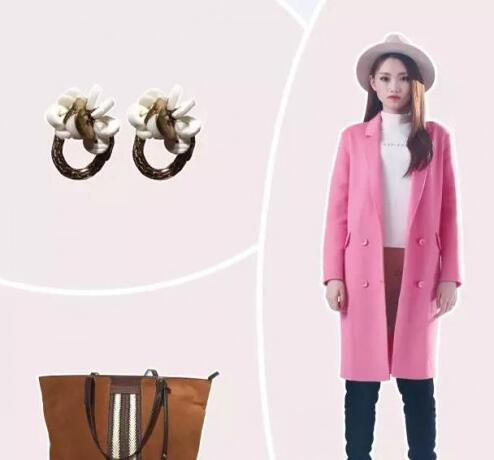 唇印lipprint女装时尚分享 秋冬季粉色大衣流行搭配来袭