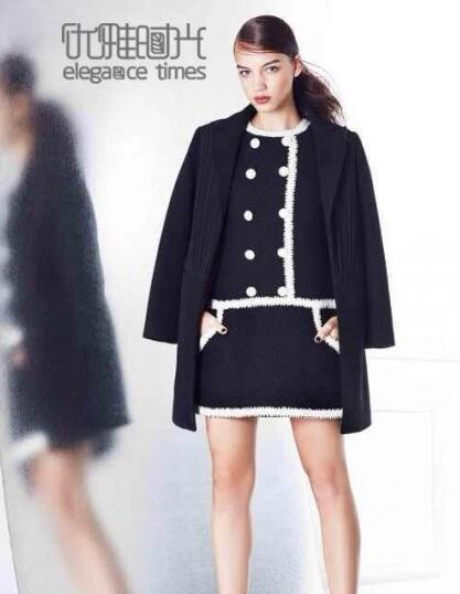 优雅时光女装新品 带来冬季优雅时尚穿搭匹配