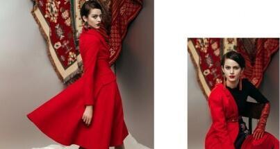 红色大衣什么款式的好?LIPPRINT唇印女装为你推荐