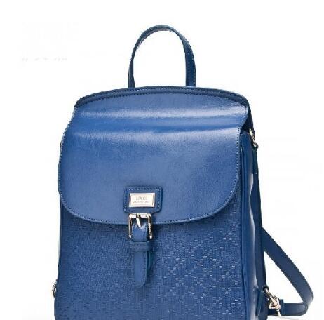 丽天妮时尚蓝色女包 造就你超高的回头率高