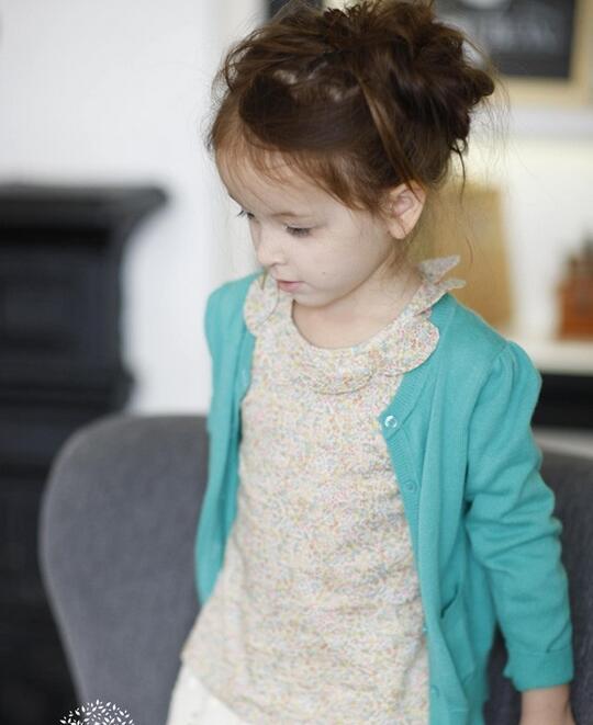 茶子树童装 三四岁宝宝适合穿的童装!