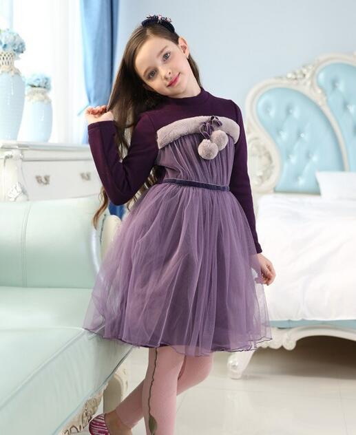 """佰林格都童装时尚小女孩着装 小女孩也可以穿得""""贵妇""""些"""