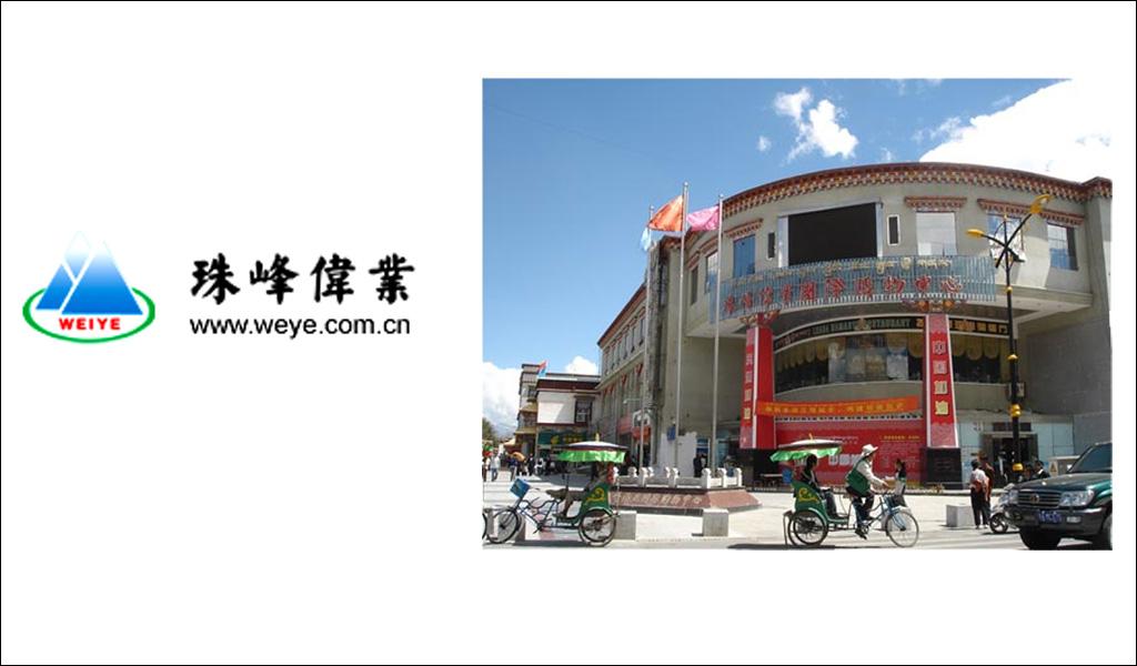 西藏珠峰伟业集团国际购物中心