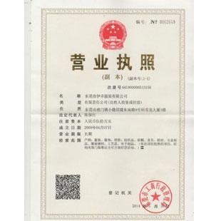 东莞市伊卓服装有限公司企业档案