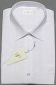 雅戈尔白色短袖衬衫