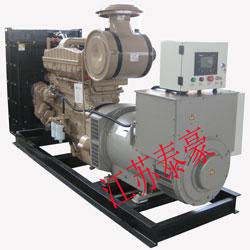 纺织贸易厂家买中美合资高性能THK-300KW康明斯柴油发电机组