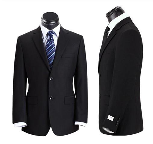 男士西服-Re 63000 全毛西裤的资料图片