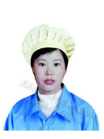 食品厂蝴蝶帽,定做透气型蝴蝶帽,防静电蝴蝶帽价格