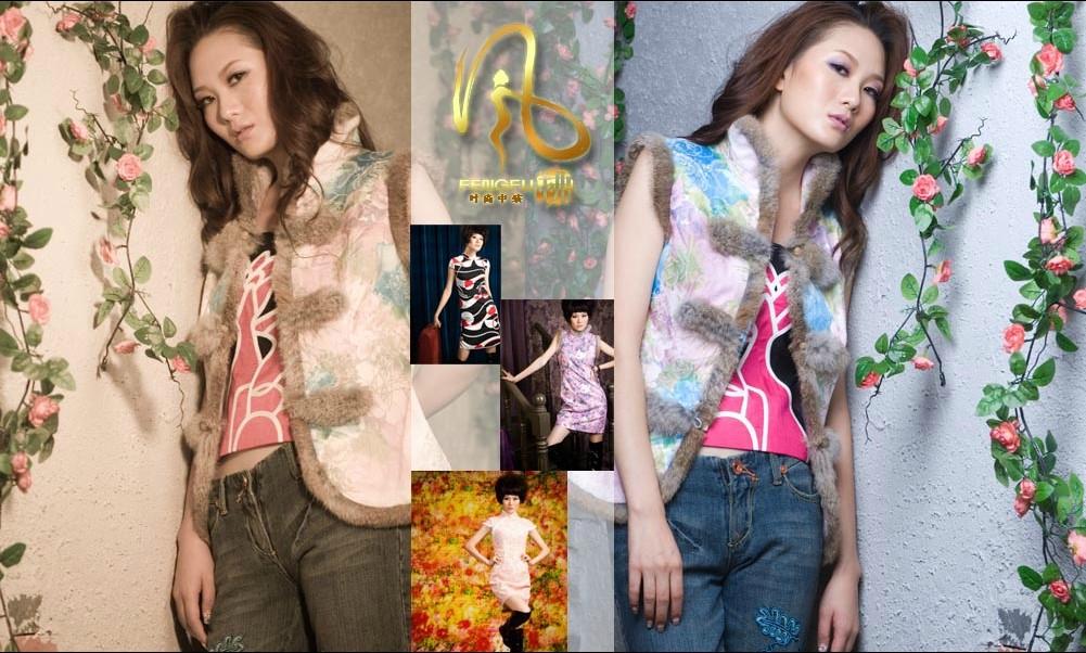 真丝旗袍,唐装,传统旗袍唐装风拂品牌!