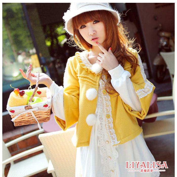 甜美日系服装品牌时尚女装加盟女式外套批发