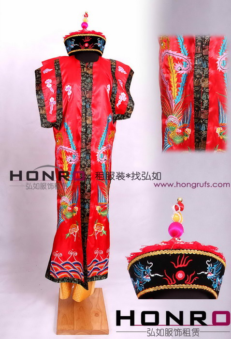 上海 服装/上海古装演出服装租赁清朝皇后服装租赁