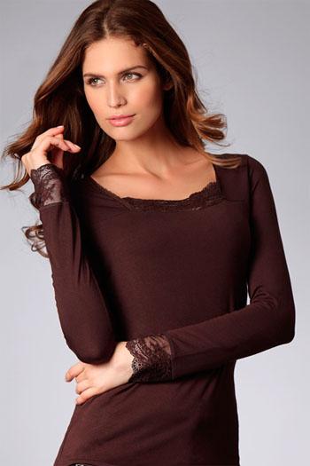 能触摸到的温暖-动感丽人保暖内衣