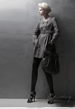 余香2011冬装新款修身保暖外套
