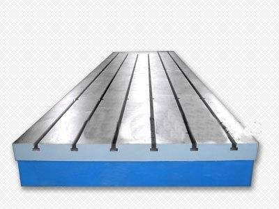 泊头市北重机械有限公司生产大型铸铁平板/机床铸件