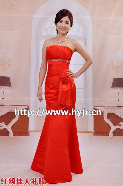 红颜佳人新娘礼服批发 晚礼服批发