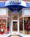 英国天使娱乐服装专卖店店面