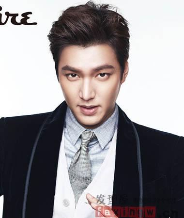 韩系男星李敏镐杂志写真集锦 韩式男发型演绎帅气花美男图片