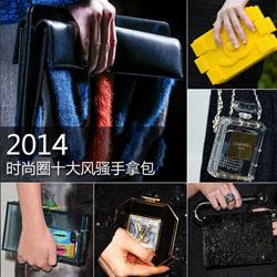 2014时尚圈风骚手拿包