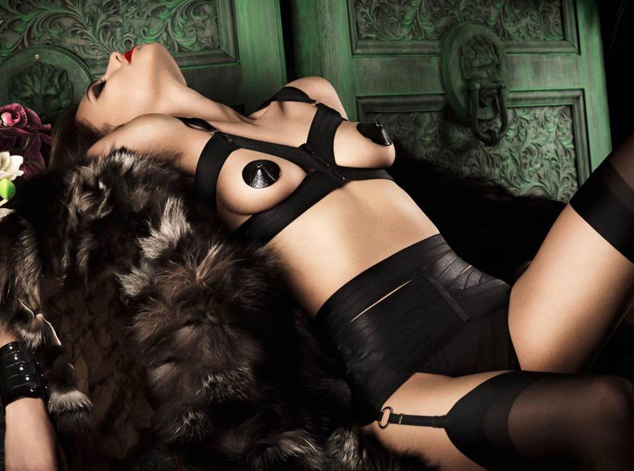 英国知名内衣品牌Bordelle最新广告大片