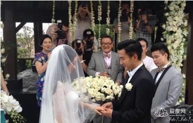 杨幂,蒋勤勤明星扎堆海岛婚礼,爱度网预测旅行结婚将大热